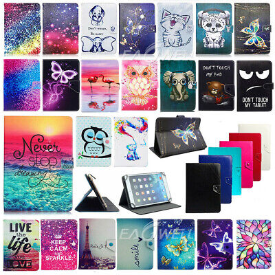 """For Samsung Galaxy Tab A 7"""" 8"""" 9.7"""" 10.1"""" Tablet Universal Leather Case Cover"""