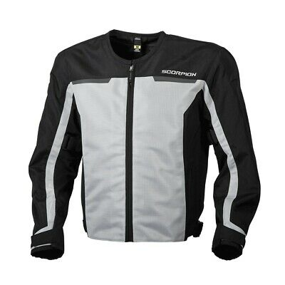 Scorpion EXO Drafter II Jacket Silver Ventilated Mesh Sport All Sizes