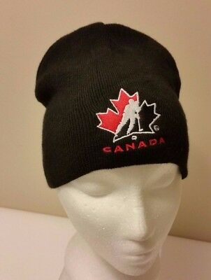 017f4678605 Team Canada 2010 Olympic Hockey Molson Beer Beanie Toque Hat One Size  Brewery