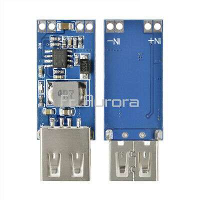 1/2/5/10PCS DC 9V/12V/24V to 5V USB Step Down Power Module 2A 3A Vehicle Charger