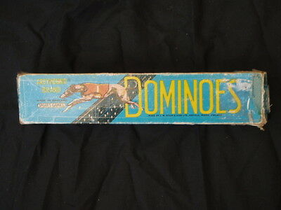 Greyhound Brand Dominoes Made in England by Spear's Games
