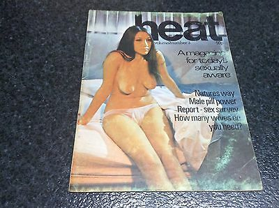 HEAT VOLUME 2 Nº 3 A MAGAZINE FOR TODAYS SEXUALLY AWARE - Magazine vintage
