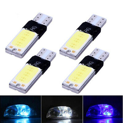T10 Car Bulbs Led Canbus Cob Xenon White W5W 501 Side Light