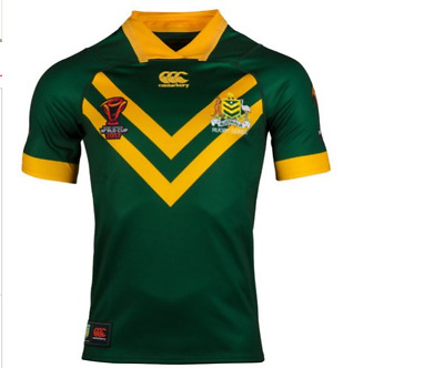 2017 rugby leagus world cup Australia KANGAROOS rugby jersey
