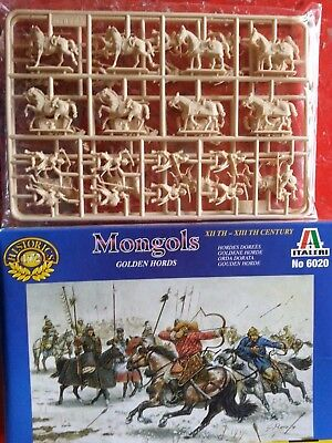 3 sets of 1/72 scale figures - Iwo Jima, Persian Calvary, Mongolian army