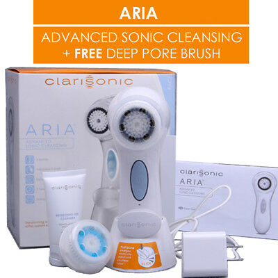 Clarisonic Aria Advanced Skin Care Sonic Cleansing Rechargeable Brush Mia 4 Uk
