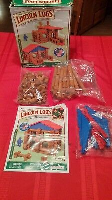 The Original Lincoln Logs New In The Box Lake Union Lodge See Pic's