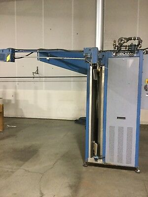 Colmac CFS 300A Tunnel Finisher, Self Contained Steam Unit, $70,000+ New