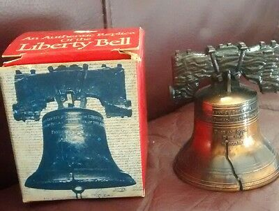 An Authentic Replica Of the Liberty Bell ~ 1975 Historical Souvenir Co