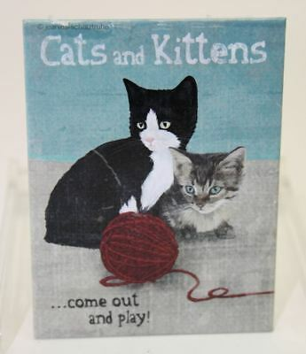 Magnet Katze - Cats and Kittens - Animal Club - Nostalgic Art