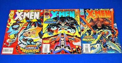 Lot of 3 THE AMAZING X-MEN Issues 2 - 4 [Marvel 1995] VF/NM or Better
