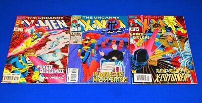 Lot of 3 THE UNCANNY X-MEN Issue 308 - 310 [Marvel 1993] VF/NM or Better