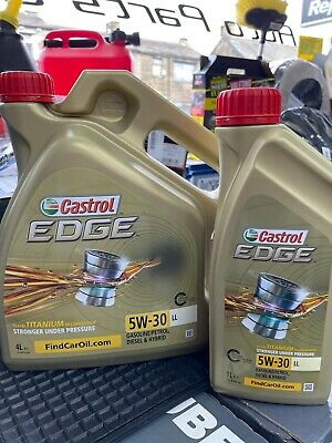 Castrol Edge Professional LongLife III 5W-30 LongLife Fully Synthetic 5 Ltrs