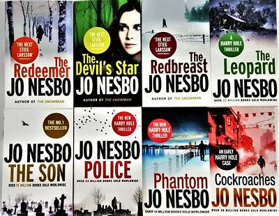 Jo Nesbo Oslo Sequence Collection 9 Books Set PaperbackThe Snowman