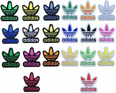 Sports Logo Patch ADIDAS LOGO sports EMBROIDERED Iron on PATCH