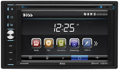 BOSS Audio Double Din, Touchscreen, Bluetooth DVD/CD/MP3/USB/SD AM/FM Car Stereo