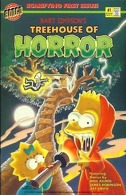 bongo comic 1st issue bart simpson treehouse of horror mint