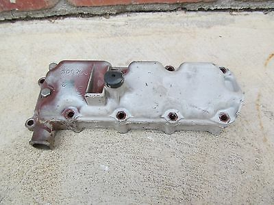 1964 Johnson Evinrude 9.5 Hp MQ 12A Outboard Engine Motor Exhaust Cover
