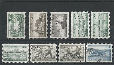 Finland - 1963 - Views - Used Stamps