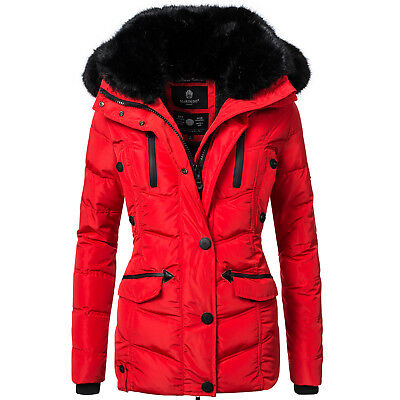 peak time damen jacke winterjacke winterparka mit echt. Black Bedroom Furniture Sets. Home Design Ideas