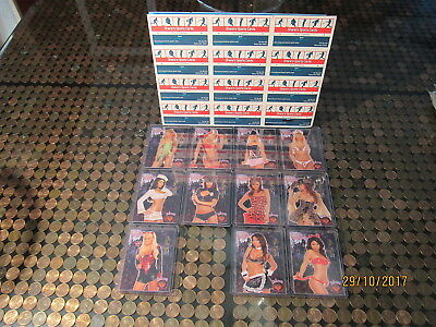 2008 Bench Warmer Limited Halloween Chase Set w/ 10b Tanaka Devil Short Print