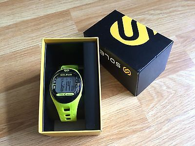 Soleus Sports Running Watch Tempo Sf001 Yellow - Brand New Boxed