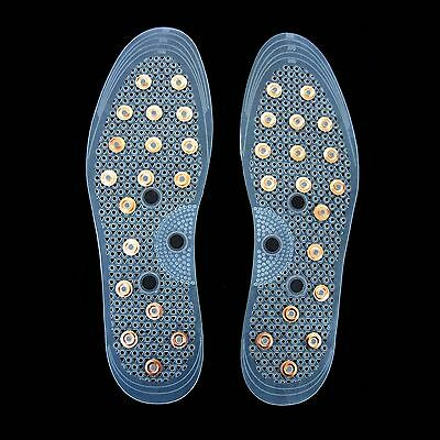Copper & Magnetic Insoles Soles May Relieve Arthritis Rheumatism Joint Pain Aid