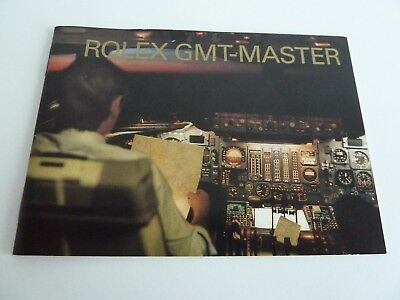 Rolex GMT Master Booklet - deutsch  11-2002