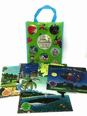Julia Donaldson Picture 11 Books Collection Set, Gruffalo, with Bag-New