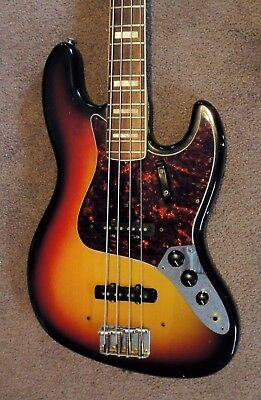 1972 Fender Jazz Bass - All Original