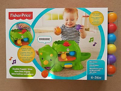 Fisher Price Double Poppin Dino 163 10 99 Picclick Uk