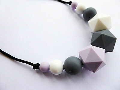 Silicone Teething Necklace,Silicone Nursing necklace Teether Silicone beads