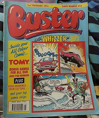 BUSTER Comic - 02/02/1991 - UK comic