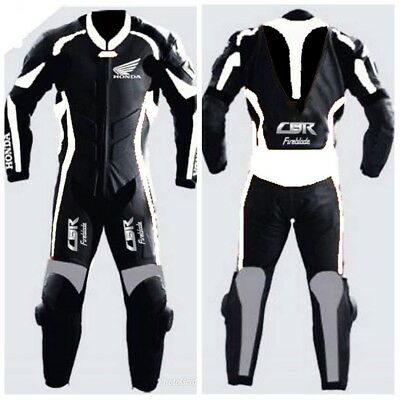 HONDA Motorbike leather suits MOTOGP motorcycle leather riding suits ALL SIZES