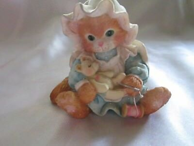 "Vintage Enesco Calico Kittens"" You Make it All Better"" 1994"