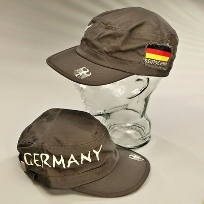 German Baseball Cap olive Deutschland Military style with Flag and Eagle