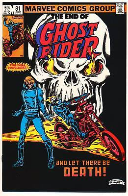 GHOST RIDER #81 F/VF, Last Issue! Death of Ghost Rider!