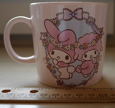 NEW AUTHENTIC Sanrio My Melody Sweet Piano Cafe Japan EXCLUSIVE Mug Tea Cup