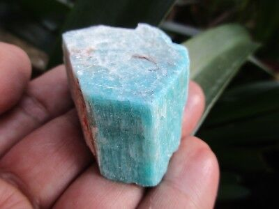 "MICROCLINE var AMAZONITE crystal  - ""Pikes Peak"" Teller County 47g NICE"