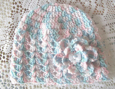 Handmade Crochet Baby Hat  in Patons baby 4 ply H#33