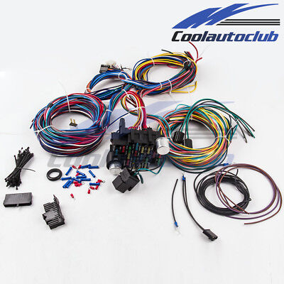 Ez Street Rod Wiring Harness Kit - Wiring Diagrams on