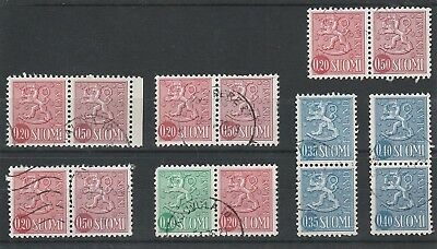 Finland - Assorted Definitives - Fine Used Stamps