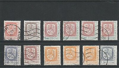 Finland - 1975 - National Arms - Used Stamps
