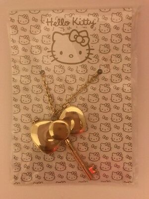 Hello Kitty Bow Tie Mirror Necklace