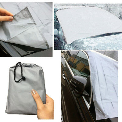 Magnetic Car Windscreen Cover Protector Anti Frost Snow Dust Sun Shield IceLARGE