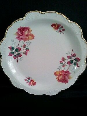 Vintage Old Foley Exquisite cake plate excellent condition