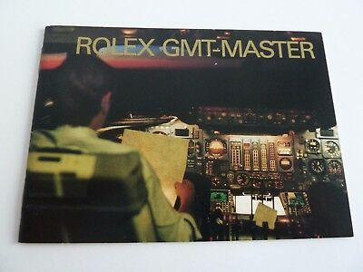 Rolex GMT Master Booklet - USA von 07-2000