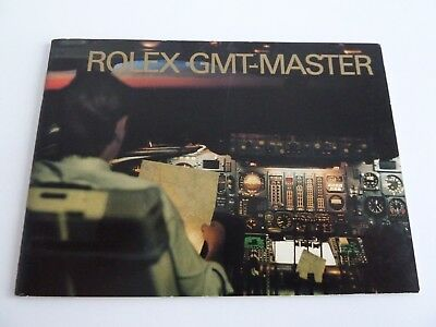 Rolex GMT Master Booklet - USA von 3-1990