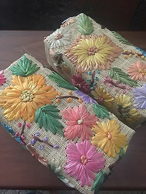 Handmade Floral Fabric Boxes