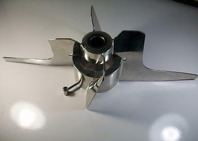 """Sanitary Mixer Impeller Stainless Steel, GM100/1X-85BFU, 21"""" *NEW*"""